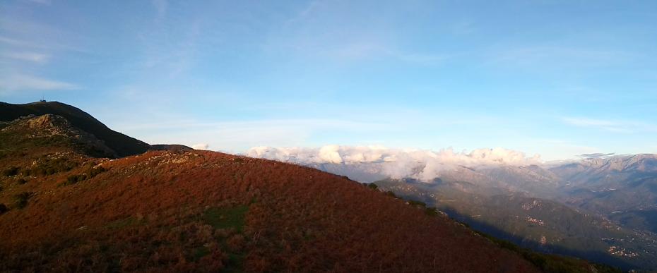 randonnée de la Punta San Eliseo à Tavaco | Corse VTC