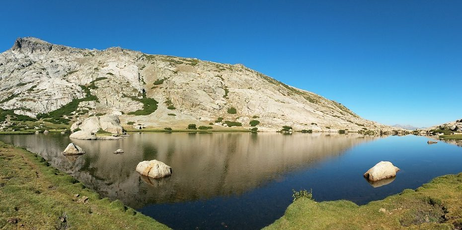 randonnée du lac d' Oriente à Corte | Corse VTC