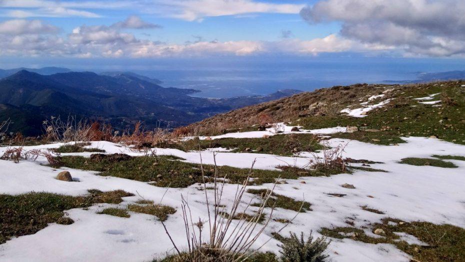 randonnée de San Eliseu par le col de Tartavello | Corse VTC