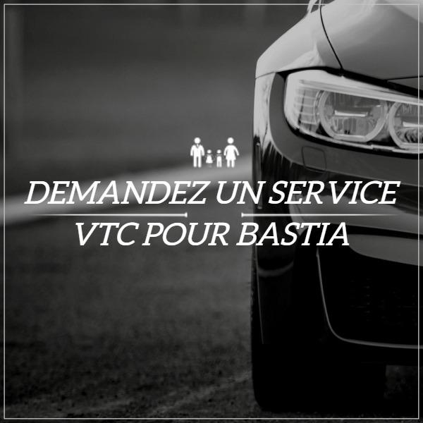 VTC à Bastia, chauffeur privé à Bastia, Taxi à Bastia, limousine à Bastia