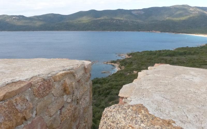 la randonnée de la tour de Capanelle à Porto Pollo