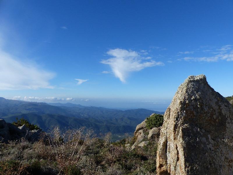 la randonnée du Monte Astu à Lama