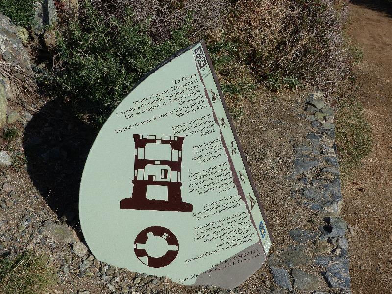 la randonnée du sentier des senteurs à la Parata