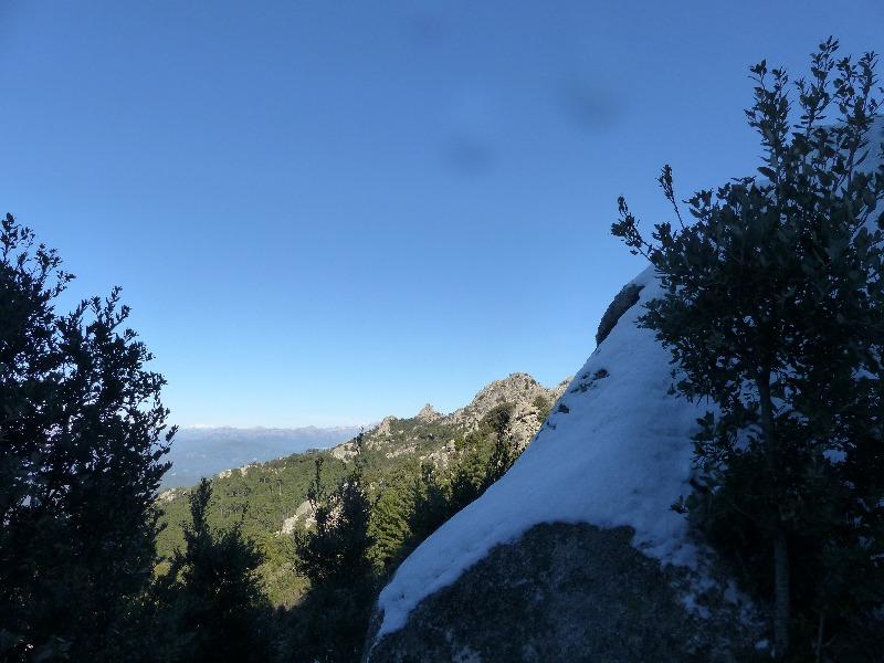 la randonnée de l'Omu di Cagna à Gianuccio