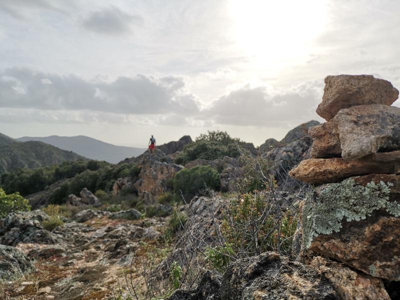 La randonnée de l'arche de Cauro