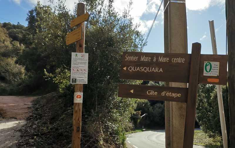 la randonnée de la Punta Maggiori à Grosseto Prugna | Corse VTC