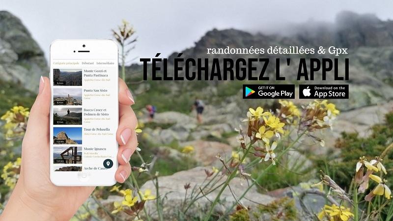 randonnées à Ajaccio, circuits pédestres, itinéraires et sentiers à Ajaccio | Corse VTC