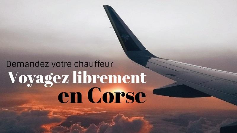 transfert aéroport, Taxi aéroport, Navette aéroport, chauffeur aéroport | Corse VTC
