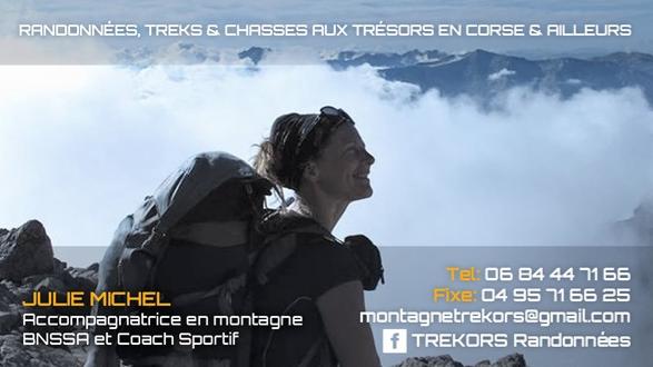 Trekors, guide de montagne | Corse VTC